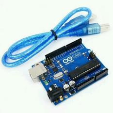 Arduino Uno R3 DIP ATMega328P + Kabel Data USB