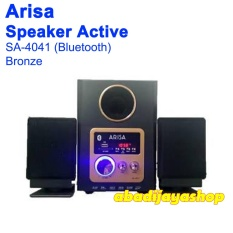 Harga Arisa Speaker Active 2 1 Ch Bluetooth Sa 4041 Silver Bronze Arisa Online