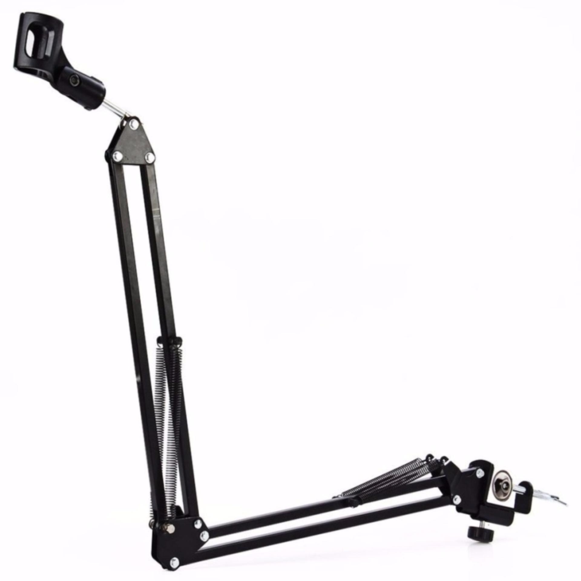 Toko Arm Stand Suspensi Lazypod Mikrofon S7923 Black Teiton Di Dki Jakarta