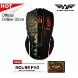 Jual Armaggeddon Wireless Gaming Mouse Mikoyan Foxbat Iii Mousepad Random Murah