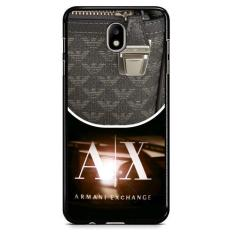 Armani Exchange Logo X3308 Samsung Galaxy J3 Pro 2017 Custom Hard Case