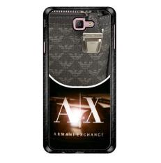Armani Exchange Logo X3308 Samsung Galaxy J7 Prime Custom Hard Case