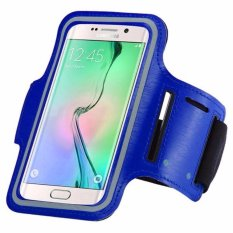 Armband for Samsung Galaxy S7 Active - Biru