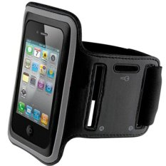 Armband Super Safetycase for Iphone 5G/c/s - Hitam