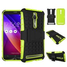 Armor Perlindungan 2in1 [Lembut TPU dan Keras PC] Stan Fungsi Phone Case untuk Asus Zenfone 2 ZE551ML ZE550ML 5.5