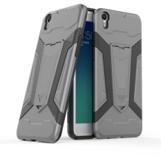 Armor Protection 2in1 [Soft TPU And Hard PC] Straight Style Stand Function Phone Case For Oppo F1 Plus (5.5″)/ Oppo R9 – Intl