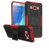 Promo Toko Armor Rugged Shockproof Hybrid Hard Soft Case Samsung Galaxy J5 2016 Merah