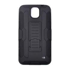 Spesifikasi Armor Samsung Galaxy Mega 2 G750 Bumper Armor Dual Layer Full Protection Case Hitam