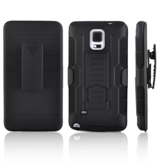 Armor Samsung Galaxy Note 4 Shockproof Armor Hybrid Hard Case & Soft Case