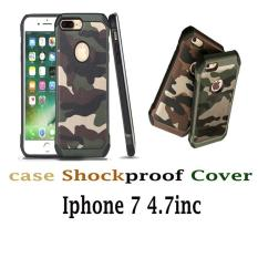 Army Camo Camouflage Pattern PC+TPU Hybrid Armor Anti-knock Protective Back Cove for iPhone 7 (4.7