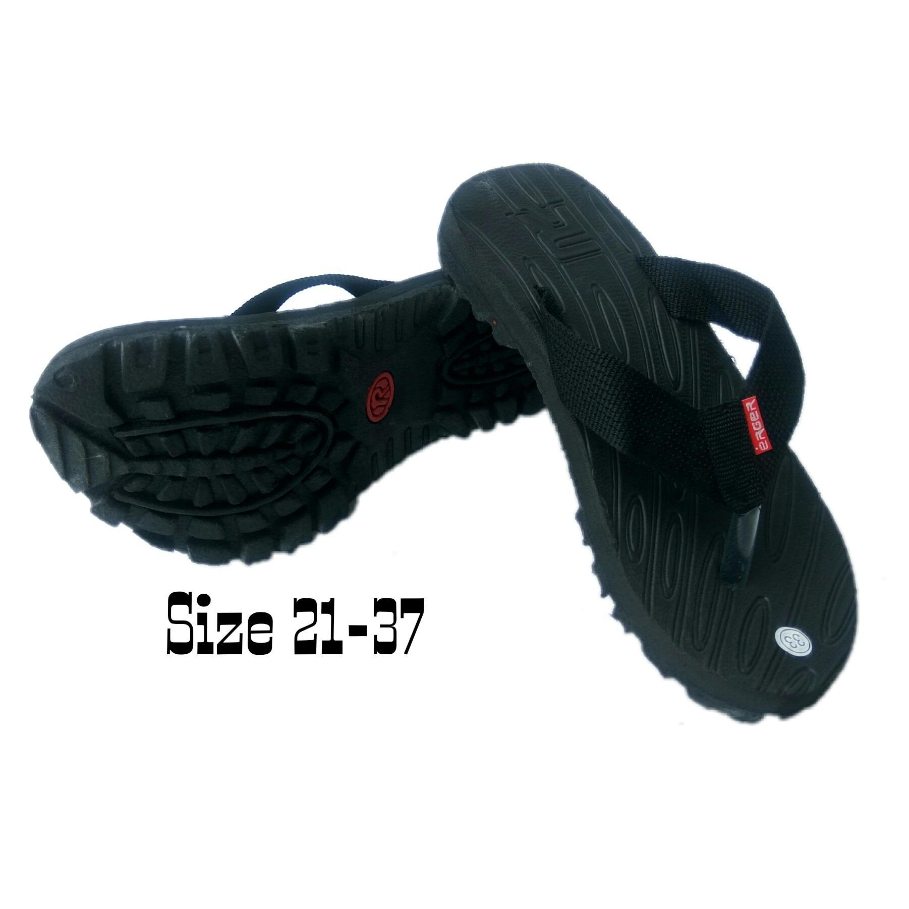Arsy Collections Sandal Gunung Jepit Baby/Balita/Anak - Hitam
