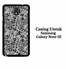 art pop art concept SAMSUNG GALAXY NOTE 3 Casing Hardcase Custom Case Cover