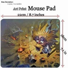 Art Print Game Mouse Pad Mat (22*18cm) for League Of Legends LOL 218 Blast Zone Heimerdinger - intl