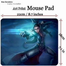 Art Print Game Mouse Pad Mat (22*18cm) for League Of Legends LOL 659 Vindicator Vayne