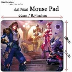 Art Print Game Mouse Pad Mat (22*18 Cm) untuk League Of Legends LOL 747 Ace Of Spades-Intl