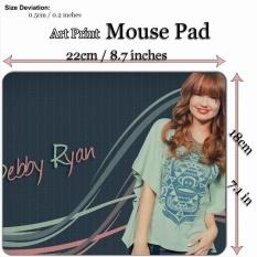 Art Print Mouse Pad Mat (22*18 Cm) untuk Selebriti 218C Debby Ryan-Intl