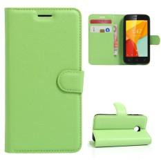 Karena Saat Case untuk Vodafone Pintar Mini 7 PU Kulit Case Lipat Penyangga Sarung Slot Kartu Dompet-Internasional