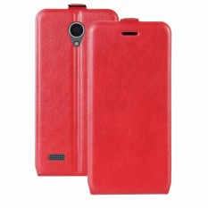 AS Beauty Case for ZTE Blade A520 Crazy Horse Pattern PU Leather Case with Card Slots - intl