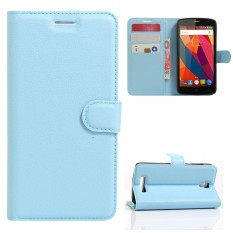 AS Beauty Case for ZTE Blade L5 / L5 Plus PU Leather Case Flip Stand Cover Wallet Card Slots - intl