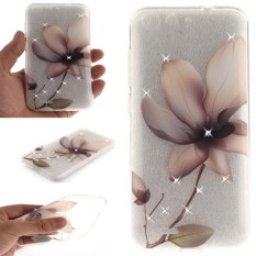 AS Beauty Case for ZTE Blade X7Bling Rhinestone Soft TPU Anti-Scratch Protective Cover - intl