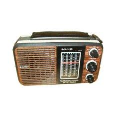 Toko Asatron R 102Usb Portable Radio Mp3 Coklat Yang Bisa Kredit