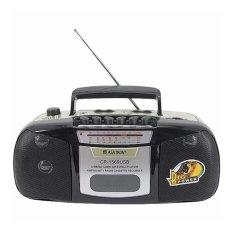 Asatron Radio Kaset Tape Usb Mp3 Mmc Portable Asatron Cr 1569 Hitam Terbaru