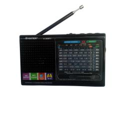 Asatron Radio Rechargeable R-1065 BTU (Bluetooth) Hitam
