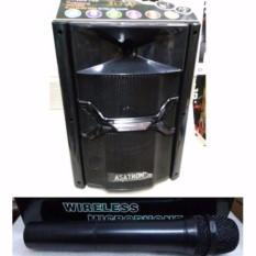 Toko Asatron Speaker Wireles Portable Amplifier Ht8868 Hitam Termurah