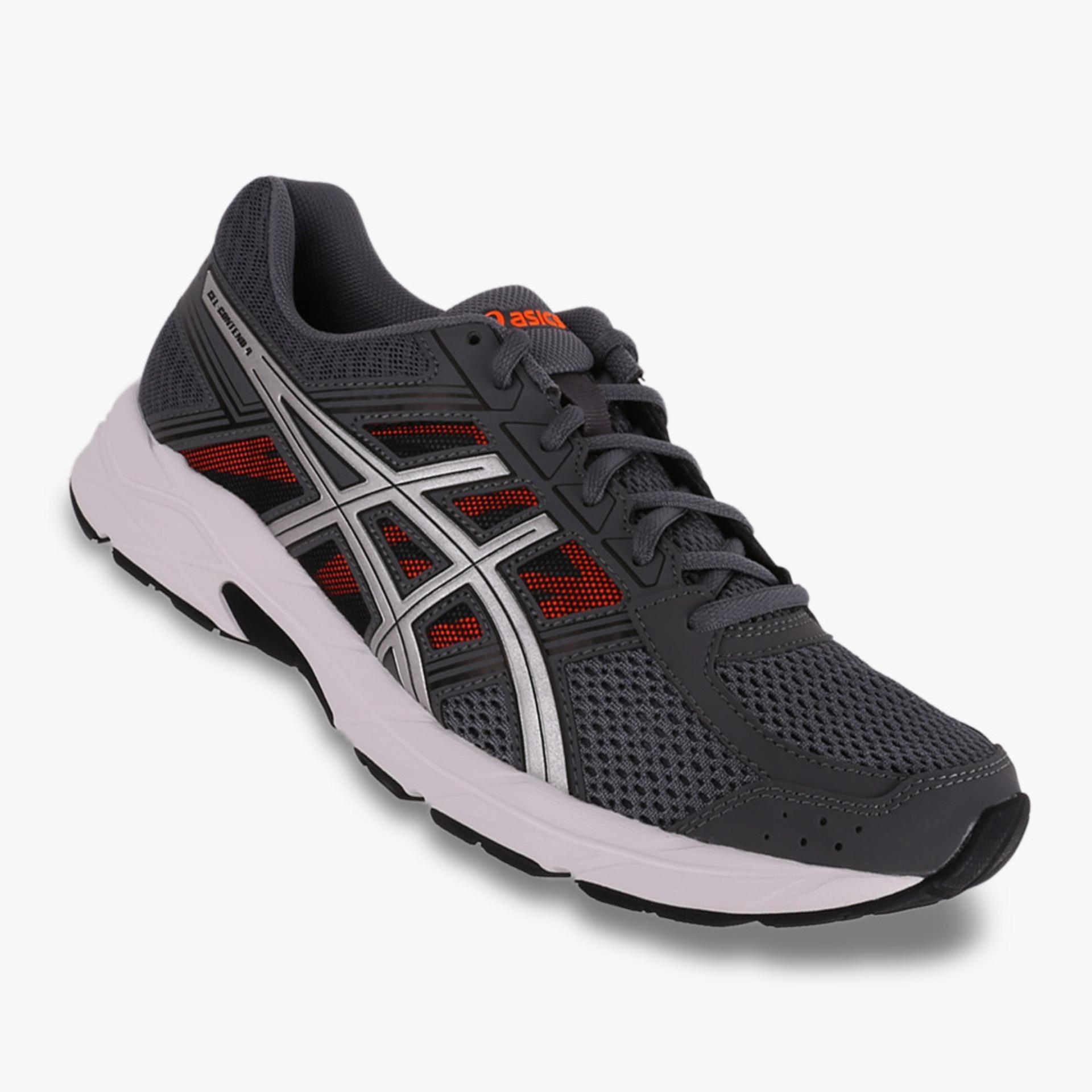 Asics Gel Contend 4 Men S Running Shoes Standard Wide Abu Abu Asli