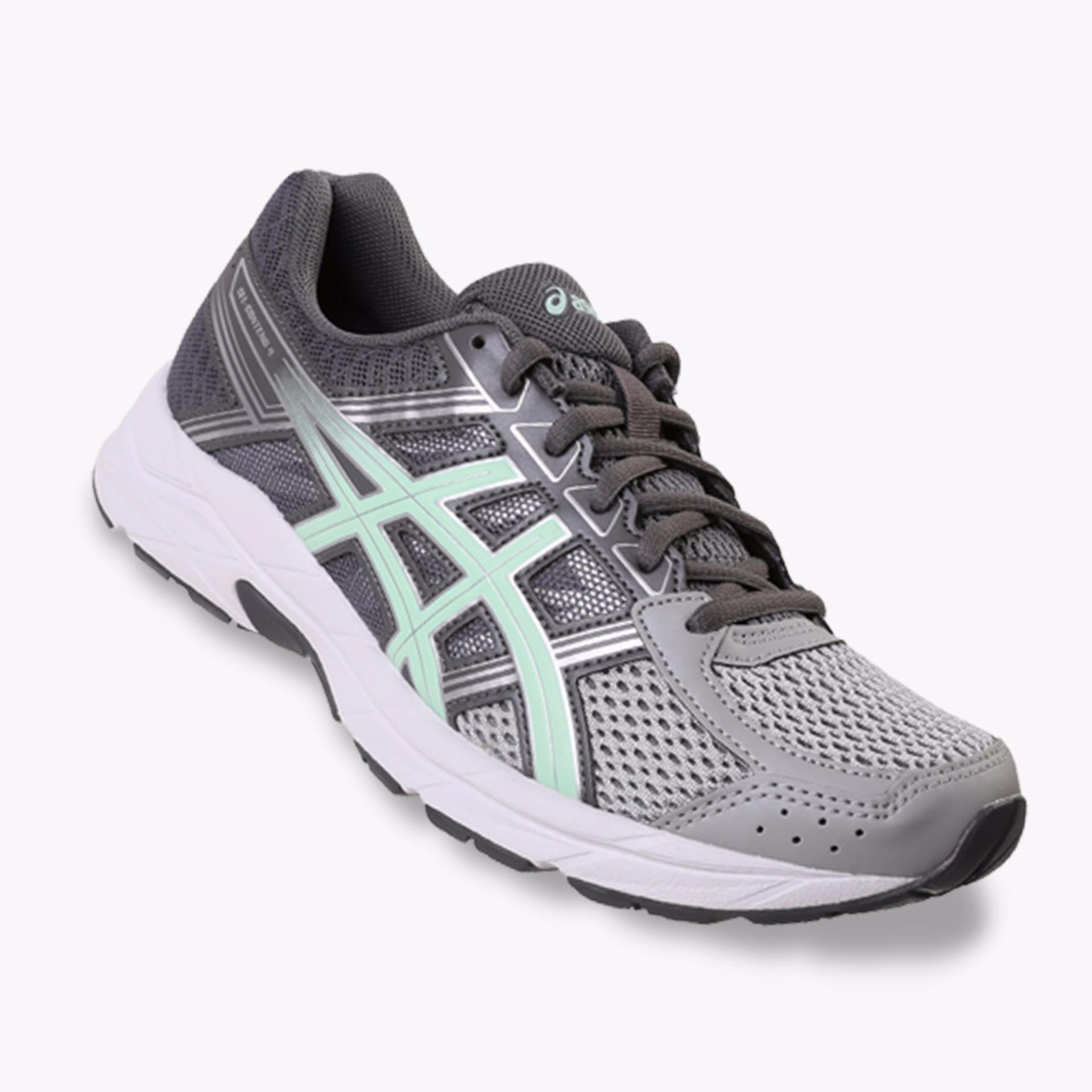 Asics Gel-Contend 4 Women's Running Shoes - Abu-abu