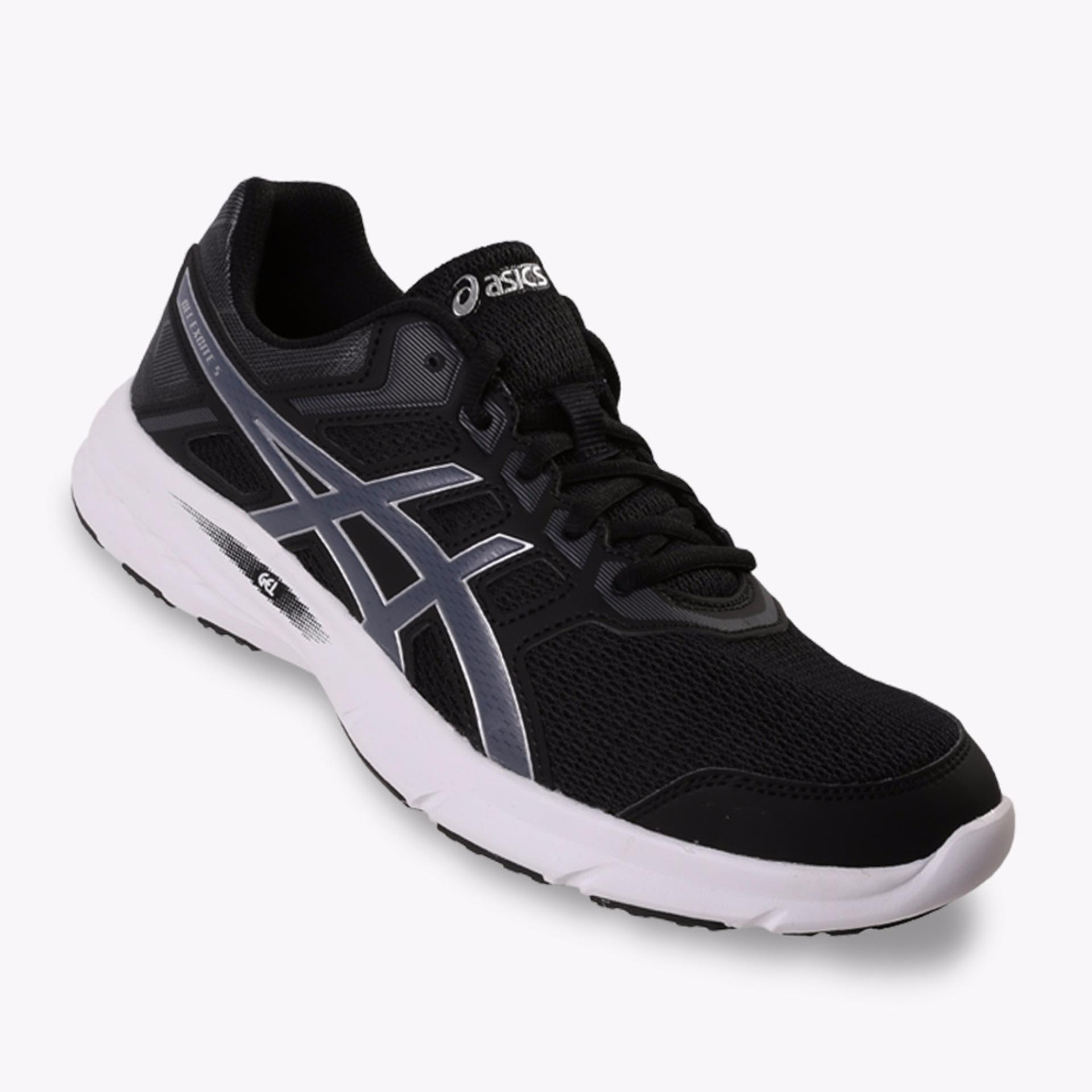 Spesifikasi Asics Gel Excite 5 Men S Running Shoes Standard Wide Hitam Asics