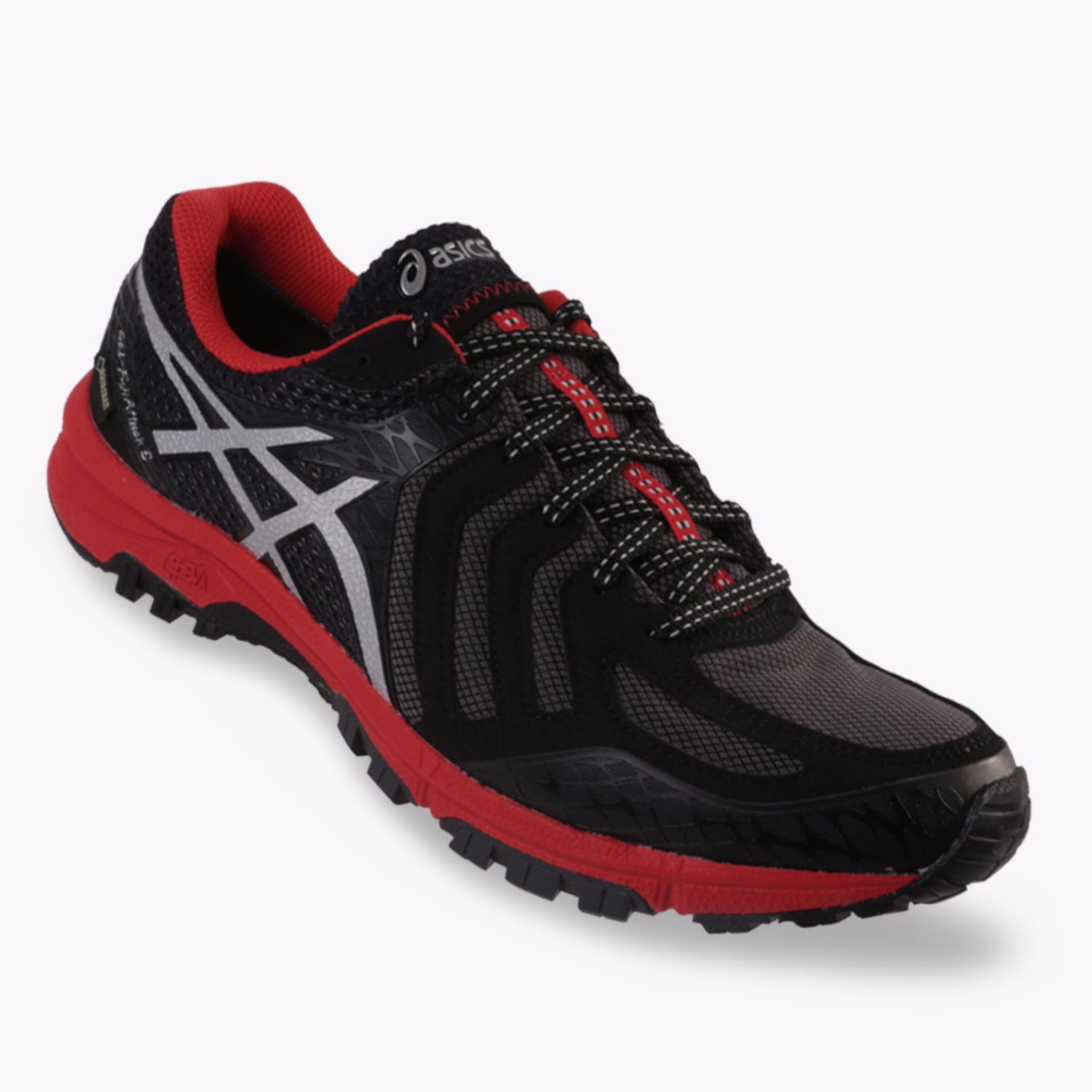 Harga Asics Gel Fujiattack 5 G Tx Men S Running Shoes Standard Wide Hitam Origin