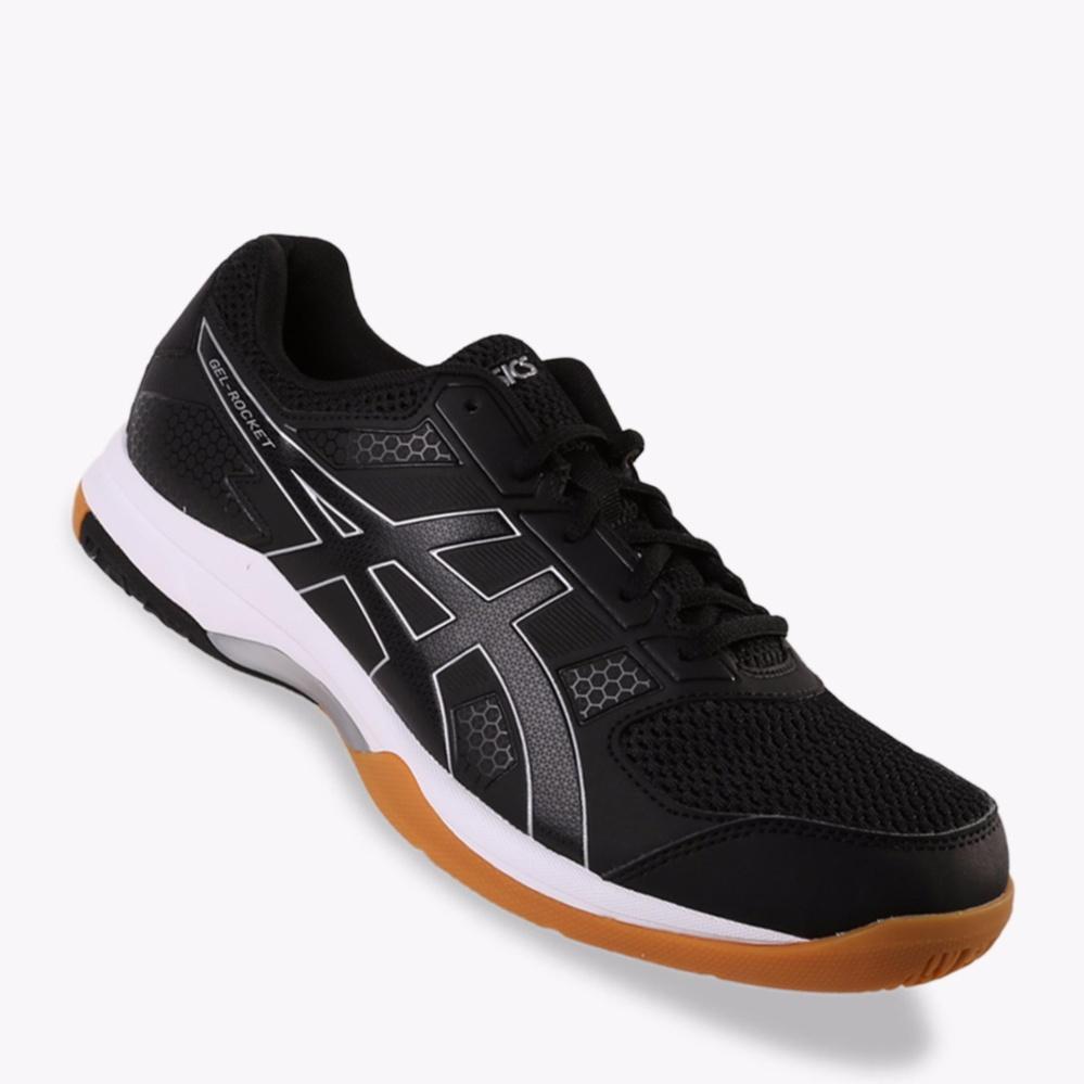 Asics Gel-Rocket 8 Men s Court Shoes - Hitam  130c0a524f