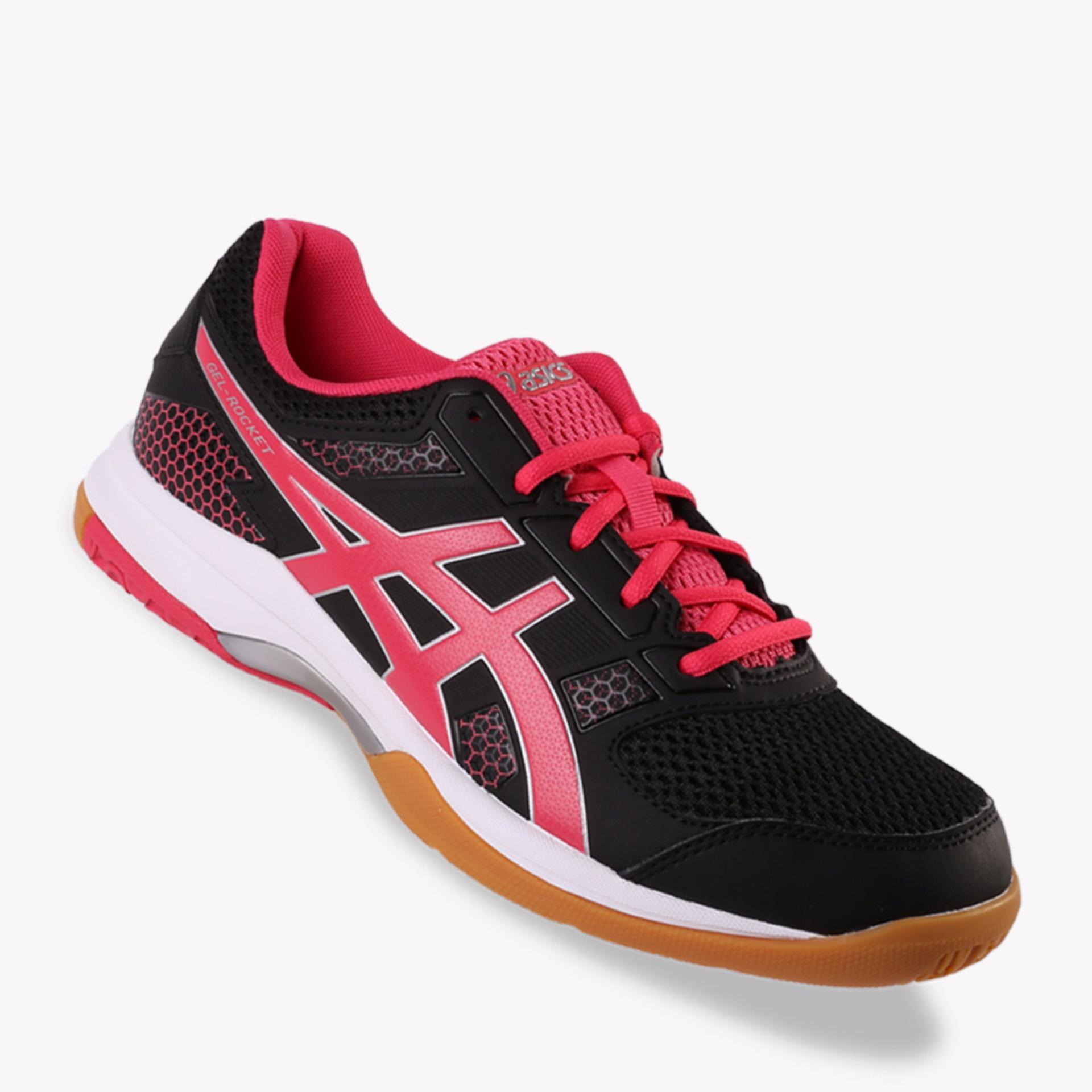 Asics Gel-Rocket 8 Women's Court Shoes - Hitam