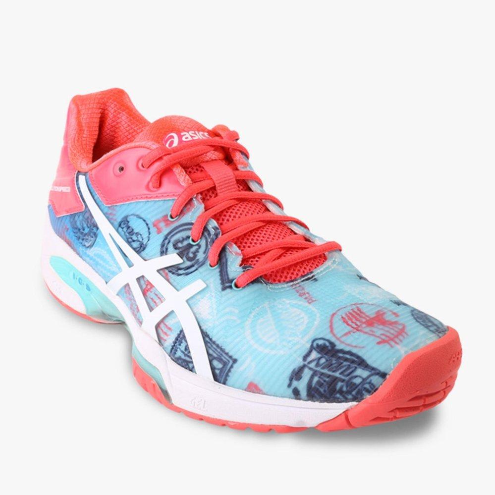Diskon Asics Gel Solution Speed 3 L E Paris Men S Tennis Shoes Multi Warna Branded