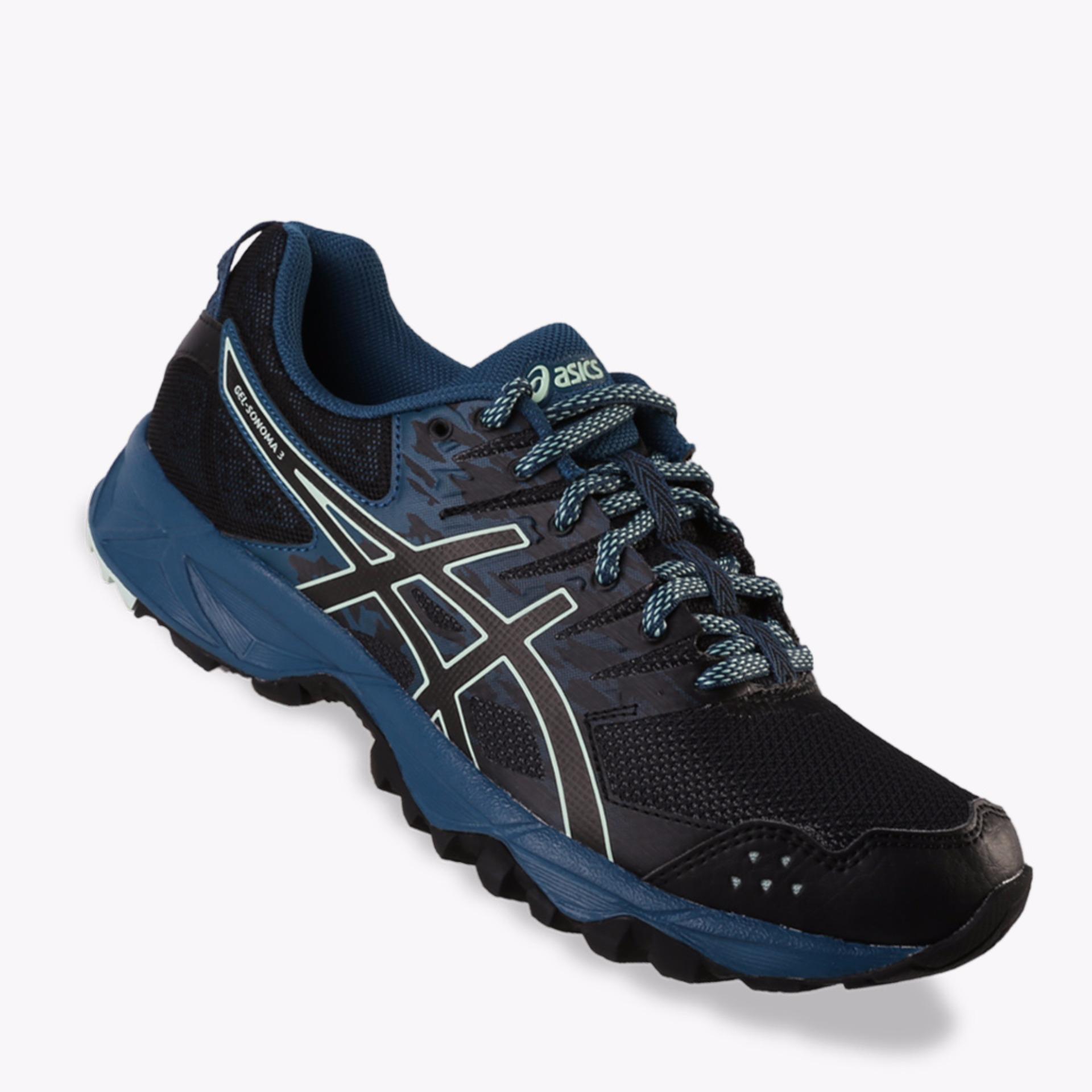 Harga Asics Gel Sonoma 3 Women S Trail Shoes Navy Lengkap