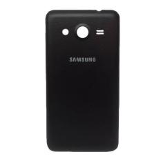 Askhev Back Door/Casing belakang Tutup Baterai Samsung J3 - Black