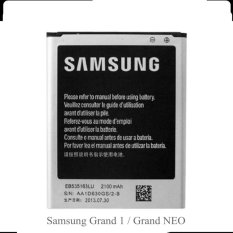 Askhev Baterai For Samsung Grand 1 Duos GT-I9082 / Grand Neo - Hitam