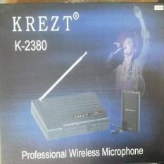 ASLI IMPORT - JUAL MIC WIRELESS KREZT KLIP ON K-2380