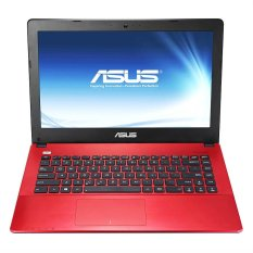 Asus A456UF WX033T  - WIN10 - Intel Core i5-6200U - 4 GB - NVIDIA® GeForce® GT930M - HDD 1TB – Merah
