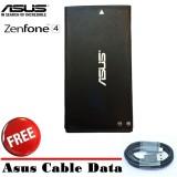 Dapatkan Segera Asus Battery For Zenfone 4 T001 1600Mah Hitam Free Asus Cable Data