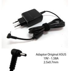 Toko Asus Charger Adaptor 19V 1 58A Original Netbook Laptop Eepc Hitam Di Indonesia