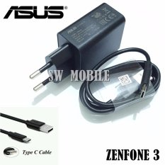 Kualitas Asus Charger Original For Zenfone 3 Include Kabel Type C 2A Asus