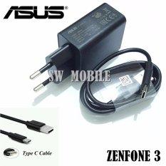 Ulasan Lengkap Asus Charger Original For Zenfone 3 Include Kabel Type C 2A