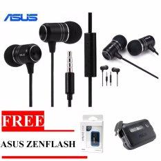 Asus Earphone Zenear Handsfree For Asus Zenfone Jack 3 5Mm Gratis Selfie Asus Zenflash Terbaru