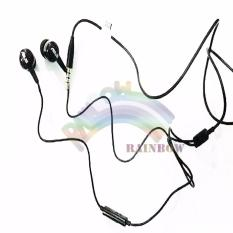 Asus Handsfree Asus Zenfone Original For All Phone Model Stereo Handsfree With Bud Sillicone / Headphone / Headset Zenfone Asus Earphone (Non Pack) - Hitam