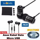 Asus Handsfree Zenear For Asus Zenfone Jack 3 5Mm Gratis Asus Kabel Data Micro Usb Hitam Indonesia Diskon