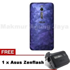 Beli Asus Illusion Case Zenfone 2 Ze551Ml Blue Biru Free Asus Zenflas Murah