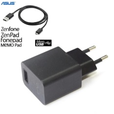 Asus Original Travel Charger Dan Kabel Data Micro Usb For Zenfone And Competible Semua Merk Hp Android Hitam Asus Diskon 30