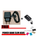 Beli Asus Original Travel Charger Zenfone 5V 2A With Cable Asus Zenflash Free Power Bank Slim Nyicil